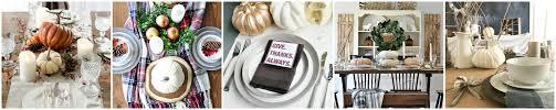 rustic thanksgiving dining room nina hendrick design co