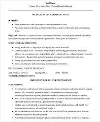 Sales Skills Resume Examples by Medical Sales Resume Pharmaceutical Sales Resume Examples Http