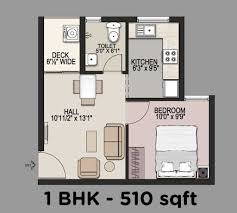 11 elegant 1bhk apartment floorplan design 1 bhk house plan layout