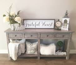 love my entry table farmhouse entrytable rustic home decor
