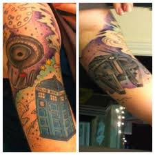 doctor who tattoo sleeve star wars doctor who and star trek