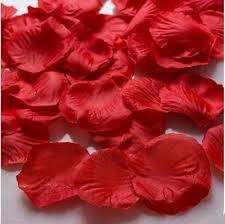 Silk Rose Petals New 1000pcs Silk Rose Flower Petals For Wedding Party Table
