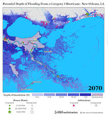 New Orleans Zip Code Map by Lights Out Storm Surge Blackouts And How Clean Energy Can Help
