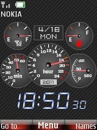 themes nokia 5130 zedge free nokia 5130 speedometer clock app download in themes