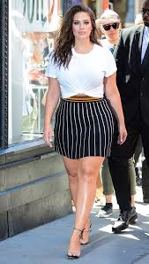 Ashley White Ashley Graham Wore A White Tee With Shoes Whowhatwear