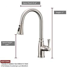 free kitchen faucets touch on kitchen sink faucets lazada modern commercial lead free