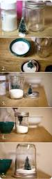 diy snow globes for christmas made with mason canning jars easy