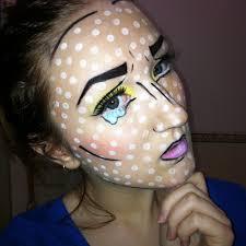 halloween cartoon makeup pop art makeup happy halloween maklina makeup australian