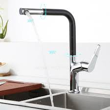 cool kitchen faucets cool kitchen faucet black painting one handle 158 99 intended for