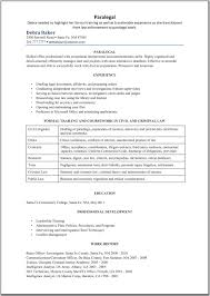 Sample Entry Level Paralegal Resume Paralegal Resume Sample Writing Guide Resume Genius Paralegal