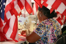 Did Betsy Ross Make The First American Flag Made In The Usa Flag Maker Works With Wal Mart To Produce Jobs In