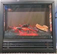 Led Fireplace Heater by 24 U2033 Electric Fireplace Heater U2013 Led U2013 1500w U2013 Freestanding Logs