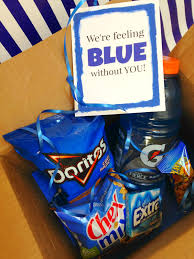 halloween care packages for college students michelle paige blogs got the blues gift for college students with