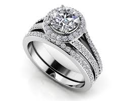 diamond bridal sets customize your wedding set matching diamond bridal set