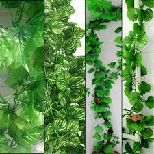 2017 230cm long 4 styles artificial plants green ivy leaves
