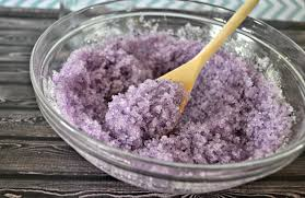 lavender vanilla salt scrub diy building our story