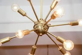 Vintage Sputnik Light Fixture Vintage Sputnik Brass Light Fixture At 1stdibs