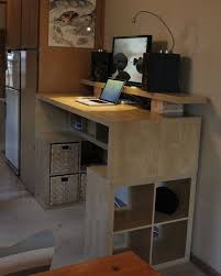 Diy Stand Up Desk Stand Up Desks Ikea Best 25 Desk Ideas On Pinterest Standing Diy