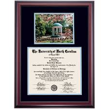 auburn diploma frame the of carolina at chapel hill diploma frames