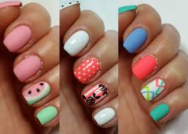 nail art nailesigns for short nails too at home pictures of