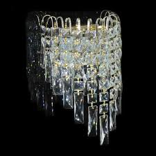 Crystal Wall Sconce by Crystal Wall Light 110v 220v 12v 24v Wall Sconce Glasses Parts