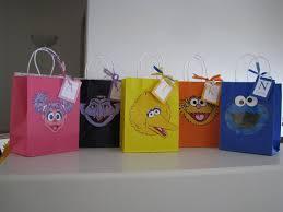 making merry memories sesame street birthday the treat bags