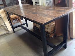 bar height table industrial how to extend the bar height table legs table design