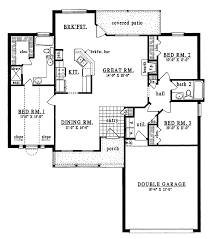 plan42 country style house plan 3 beds 2 baths 1476 sq ft plan 42 468