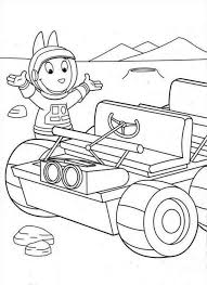 mechanic backyardigans coloring coloringplus 126869