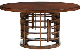 Tommy Bahama Dining Room Furniture Tommy Bahama Home Island Fusion Meridien Round Dining Table