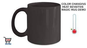 Heated Coffee Mug by Magic Mug Heat Changing Mugs Color Changing Mug U0026 Heat Sensitive