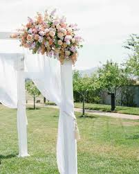 wedding chuppah 25 beautiful chuppah ideas from weddings martha stewart