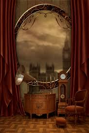 Steampunk House Interior Premade Steampunk Background By Mevica On Deviantart