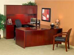 Executive Desk With Hutch U Shaped Desk With Hutch In The Kitchen Thedigitalhandshake