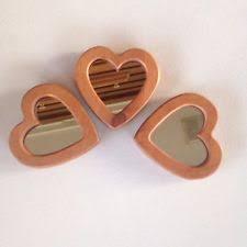 heart shaped items london ornaments hanging heart shaped mirror ebay