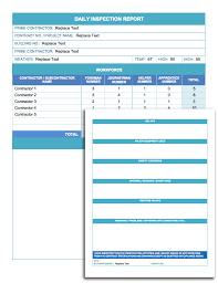 daily report sheet template free daily schedule templates for excel smartsheet