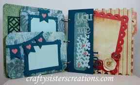 What Is Cricut Craft Room - mini album blog hop u2013my cricut craft room crafty sisters creations