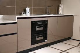 Modern European Kitchen Cabinets by China 2016 Welbom Invisible Handle High Gloss Finish Modern