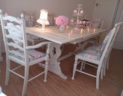shabby chic dining table sets table set