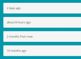 format date javascript jquery jquery plugin for human readable date format timeagoinwords js