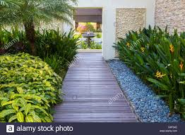 tropical garden home interiror and exteriro design home design