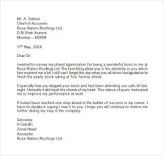 ideas collection sample farewell letter to my boss with additional