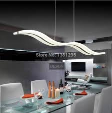 Dining Room Hanging Lights Led Pendant Lights Modern Kitchen Acrylic Suspension Hanging