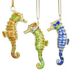 dillards trimmings cloisonne seahorse ornament dillards