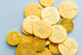 hanukkah chocolate coins chanukah the federations of america