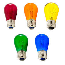 multi colored light fixture multi color light bulbs commercial light strand bulbs