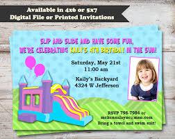 Backyard Birthday Party Invitations Birthday Parties Birthday Invitations Invitations Page