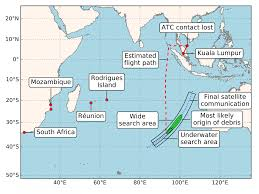 Space Debris Map Study Reveals Where Mh370 Debris More Likely To Be Found