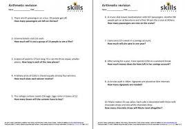 arithmetic revision for entry level 3 skills workshop