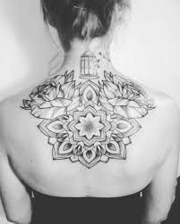 neck to shoulder tattoos 43 best mandala tattoos for men and women you u0027ll love 2017